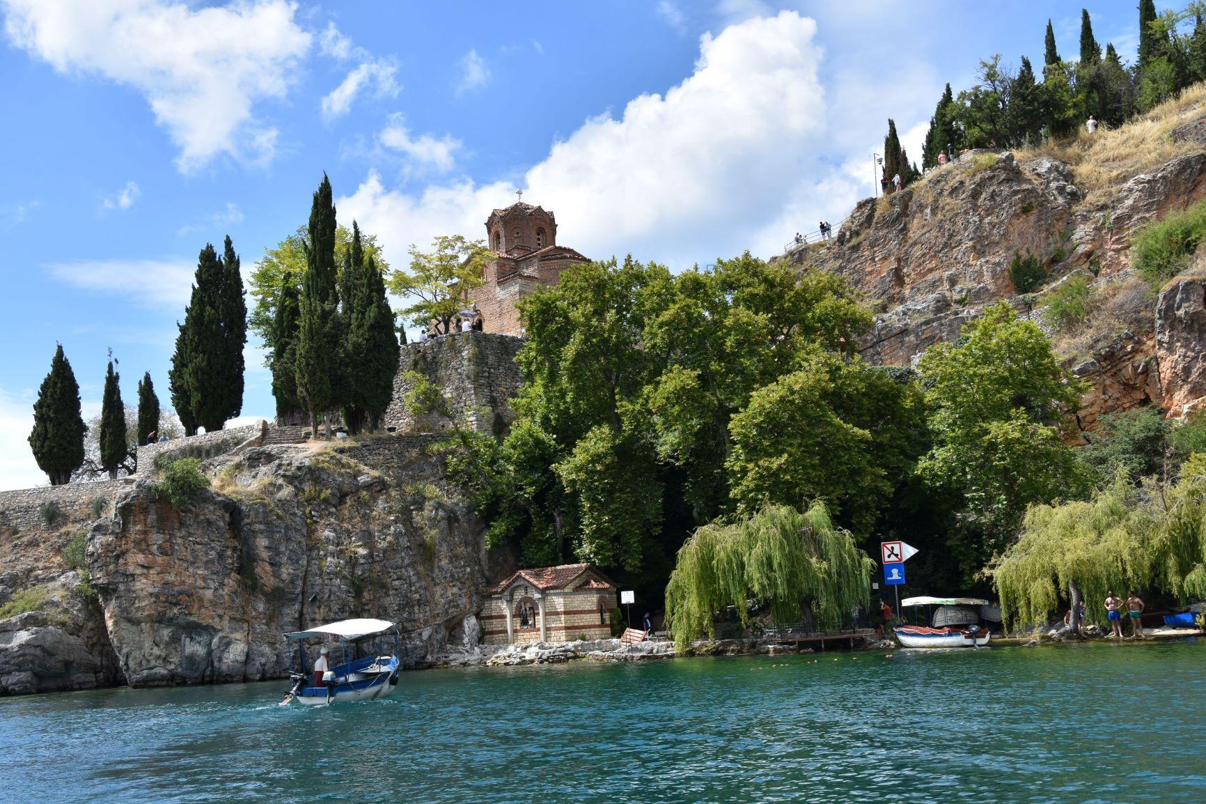 Kaneo-from-the-lake-Ohrid-Macedonia