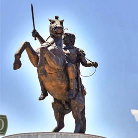 Skopje-AlexandertheGreat-monument